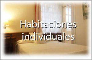 Habitaciones individuales - Hotel palacete Fuentrabia