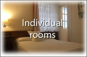 Individual rooms hondarribia