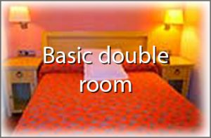 basic double room in fuenterrabia Palacete hotel