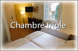 chambre triple hotel palacete