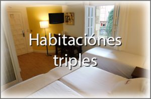 habitacion familiar triple hondarribia hotel palacete