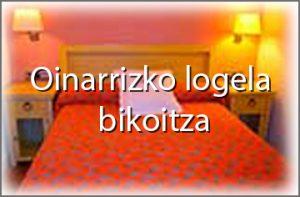 oinarrizko logela bikoitza - Hondarribiko hotelan